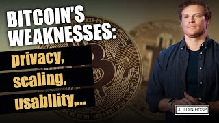 Bitcoin's weaknesses: privacy, scaling, usability,...