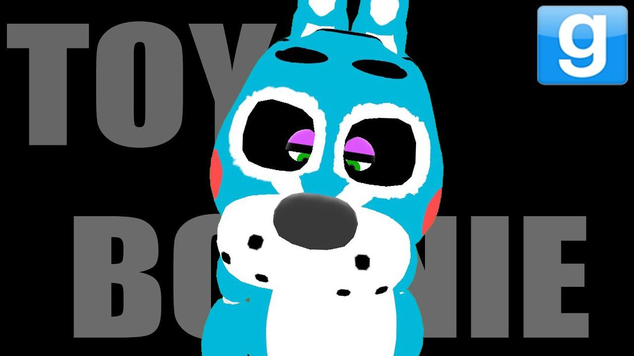 Bonnie s funny shopping market gmod fnaf toy bonnie playermodel mod