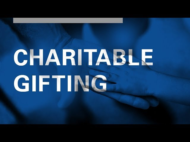 The Impact of Charitable Gifting Laws