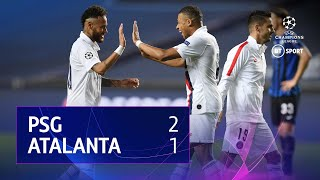PSG v Atalanta (2-1) | UEFA Champions League Highlights