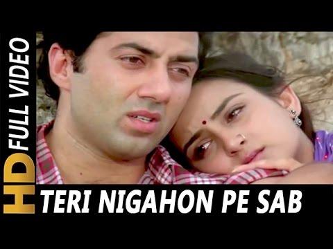 Download Teri Nigahon Pe Sab Kuch Lutane Aaye | Mohammed Aziz, Sukhwinder Singh | Yateem Songs | Sunny Deol