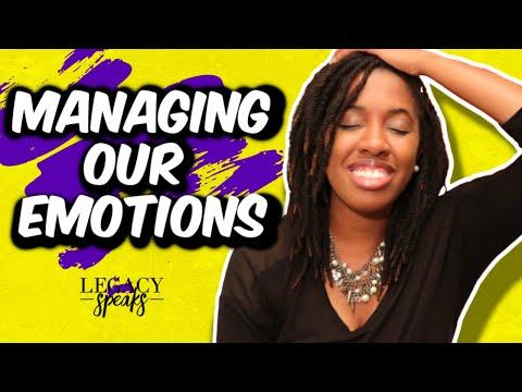 Quick & Easy Way to Manage Emotions | Emotion Regulation Model | @LEGACYspks