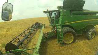 A Farming Moment: Harvesting Wheat at Triple G Farms