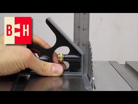 Aligning Table Saw Blade to 90 degrees