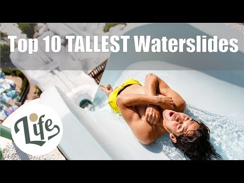 Top 10 TALLEST Waterslides In The World