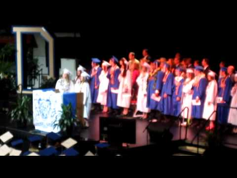 Dixie High School Graduation 2010-National Anthiem
