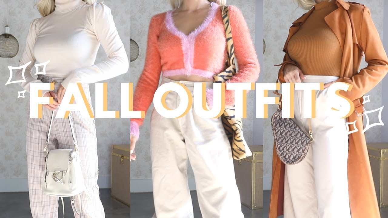 [VIDEO] - FALL OUTFIT IDEAS 2019 2