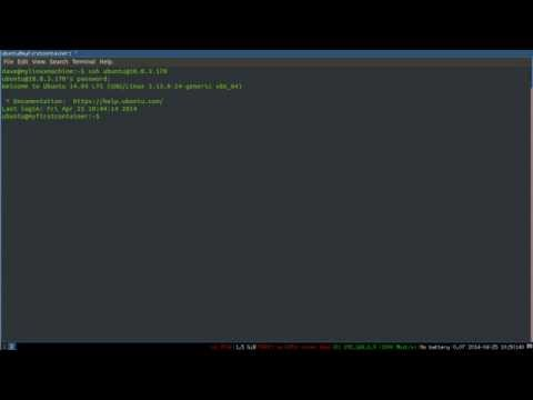 SSH on the Command Line -- 1: The Absolute Basics