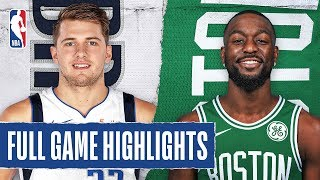 ... the boston celtics outscored dallas mavericks, 62-52 in second half on their way to a