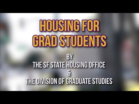 Division of Graduate Studies Housing Video
