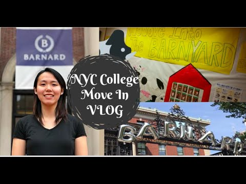 NYC COLLEGE MOVE IN VLOG 2017 // Barnard College