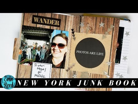 New York Travel Scrapbook Junque Journal - Part 1 **CLOSED**