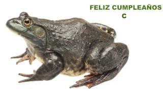 C   Animals & Animales - Happy Birthday