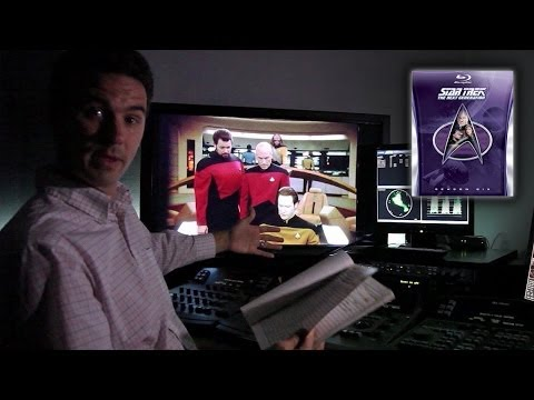 TNG Remastered - Film Transfer and Restoration at CBS Digital