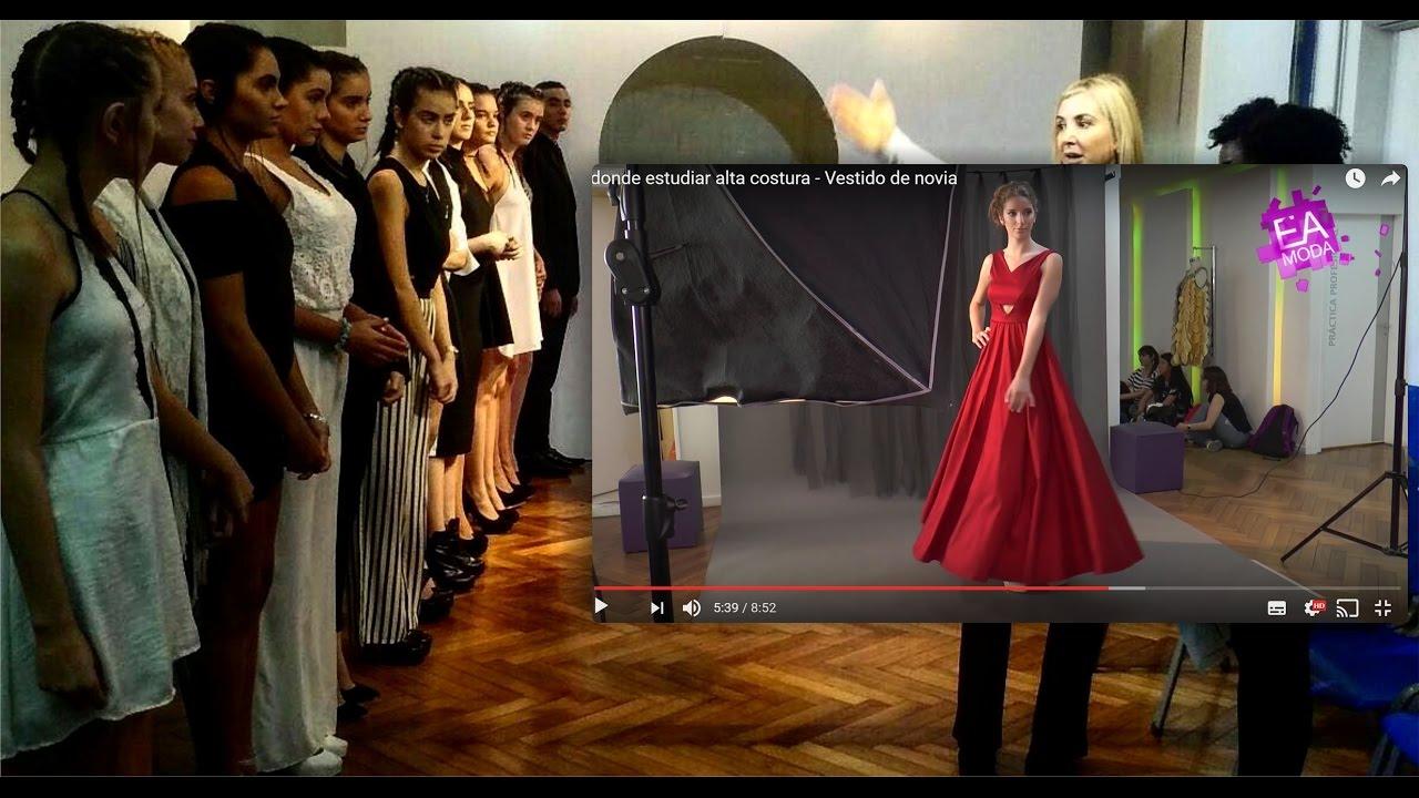 fe3dd06a86 Modelaje profesional - Escuela de Modelo - pasarela - publicidad - Escuela  Argentina de Moda - YouTube
