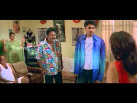 Maa Alludu Very Good Movie   Allari Naresh, Krishna baghwan at Ramya krishna's house comedy scence