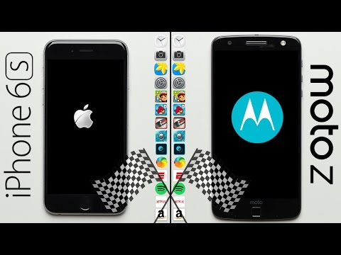 iPhone 6S vs. Moto Z Speed Test