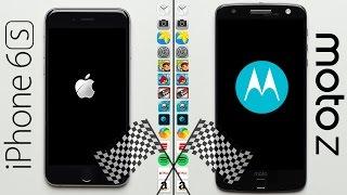 iPhone 6S vs. Moto Z Speed Test