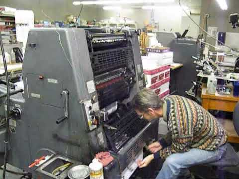 heidelberg gto 52 offset youtube rh youtube com CD Manual User Manual