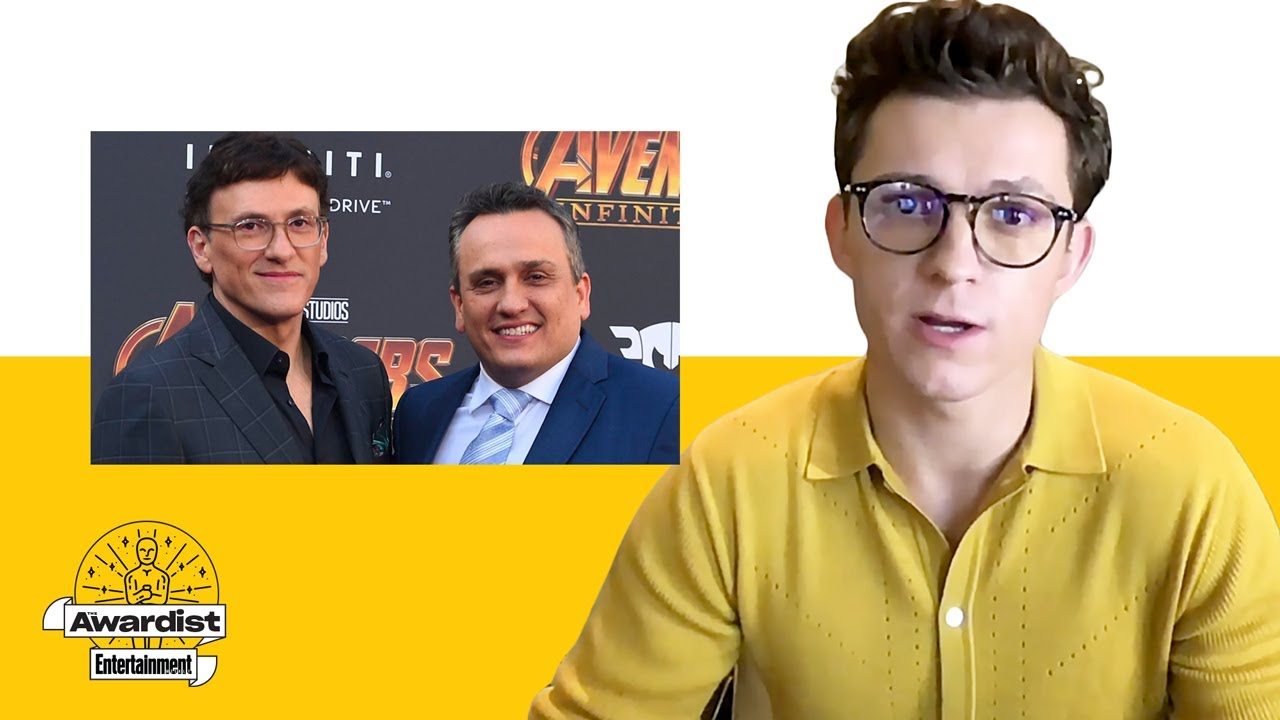 Tom Holland Compares Working With the Russos on 'Avengers' Vs. 'Cherry'