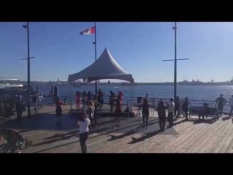 Persian Dance, cultural days in Canada North Vancouver  رقص ایرانی در کانادا نورت ونکوور part 1