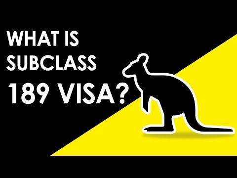 What is Australian Skilled Independent Visa Subclass 189 | Country Visa | Make Visas