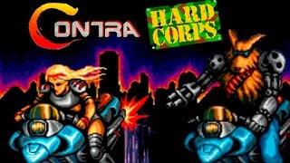 Contra Hard Corps прохождение (Sega Mega Drive, Genesis)