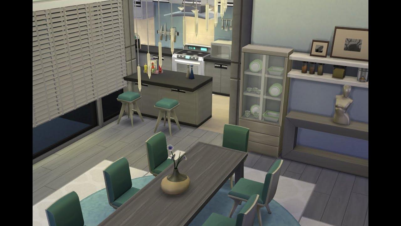 Idee sims 3 küche modern sims 4 lets build a modern house