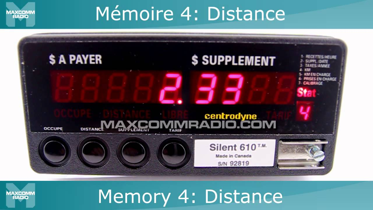 maxresdefault centrodyne silent 610 taxi meter instructions taxim�tre  at n-0.co