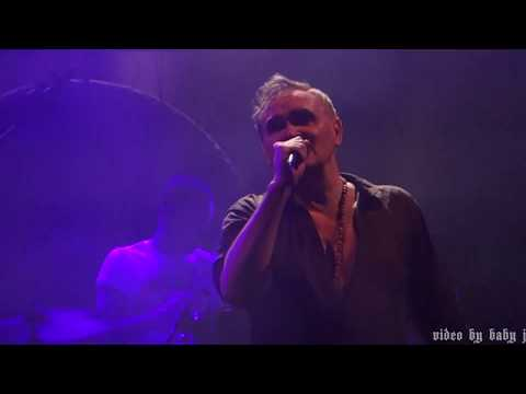 Morrissey-SPENT THE DAY IN BED-Live @ Royal Albert Hall, London, UK, March 7, 2018-The Smiths