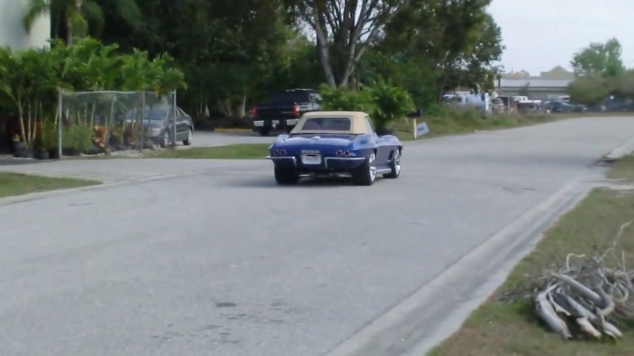 1965 Corvette Restomod driving