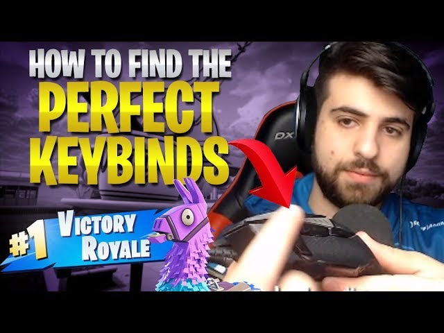 How To Find The Perfect Fortnite Keybinds Season 5 6 Fortnite