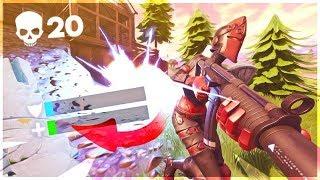 THE CRAZIEST CLUTCH EVER! Solo 20 Kill Game - Fortnite