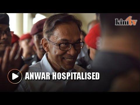 Download Youtube: Anwar Ibrahim rushed to Kuala Lumpur Hospital