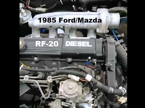 Mazda diesel engine