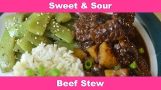 How To Make Mesha's Sweet & Sour Beef Stew