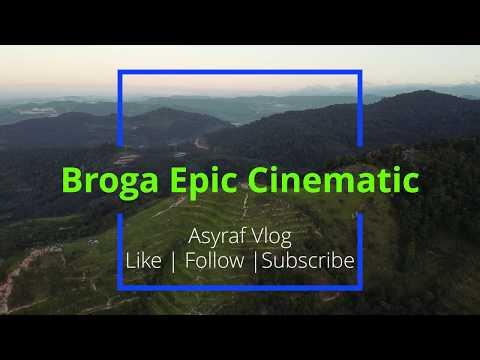 Broga Hill Epic Cinematic DJI Mavic Mini Drone Shot