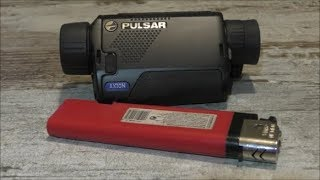 PULSAR AXION  обзор тепловизоров XM30 Самый компактный тепловизор для охоты
