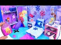 DIY Miniature Doll Bedroom For Disney Frozen Elsa mp3