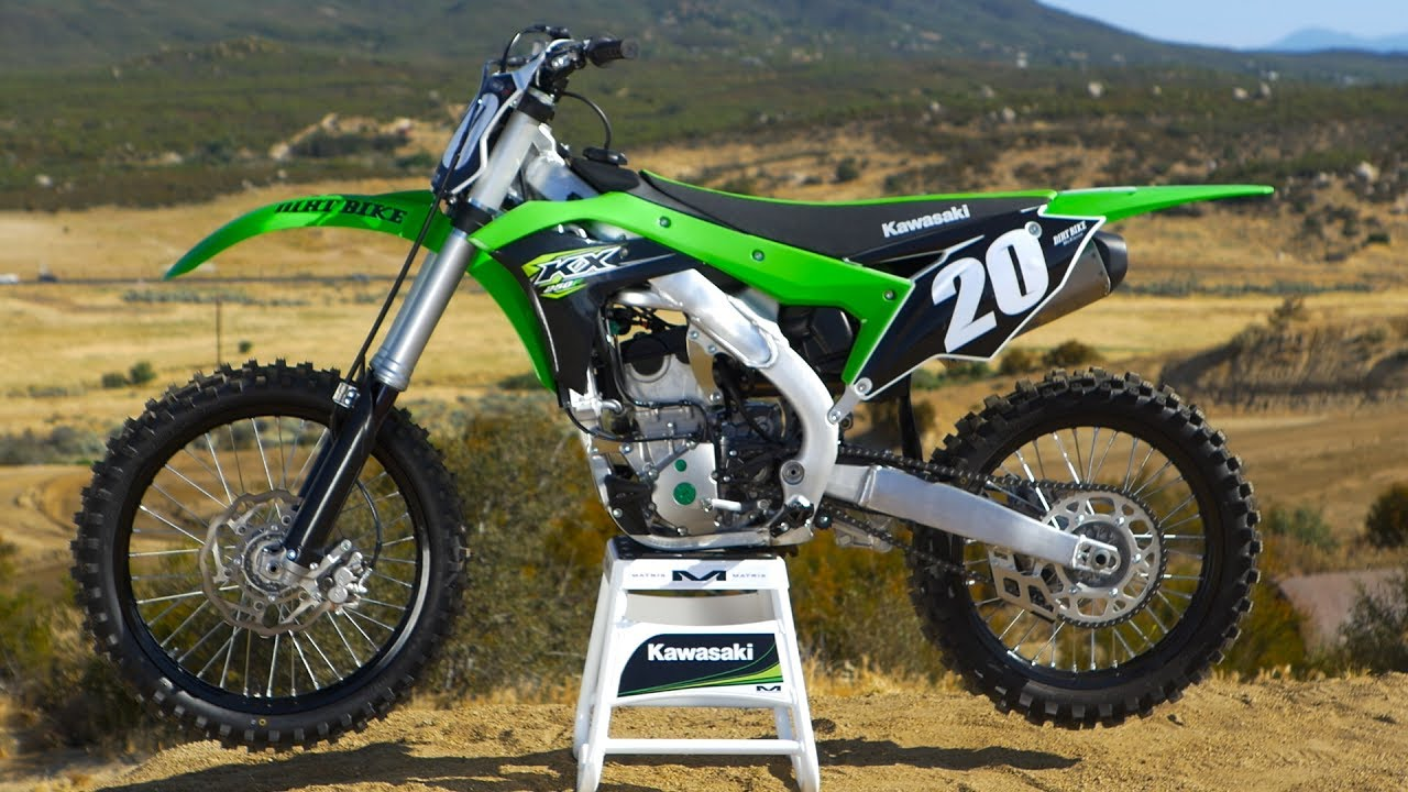 2018 Kawasaki Kx250f Dirt Bike Magazine Youtube