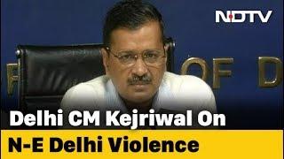 Arvind Kejriwal's Response On Allegations Against AAP Leader Over Delhi Violence