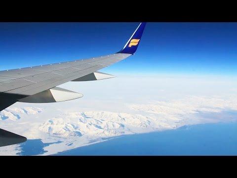 Icelandair 757-200 Oslo-Reykjavik/Keflavik Safety, Takeoff, Inflight, Spectacular Landing