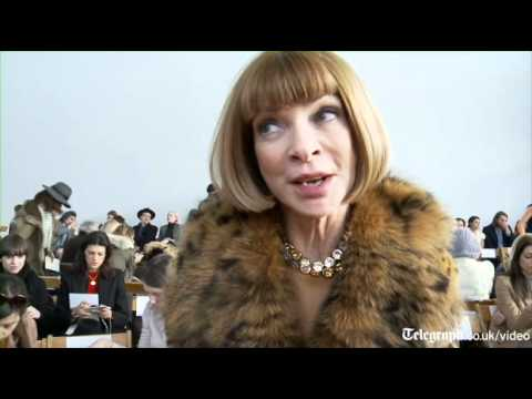Anna Wintour talks exclusively to Telegraph TV