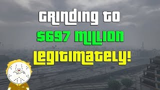 GTA Online Grinding To $697 Million Legitimately And Helping Subs