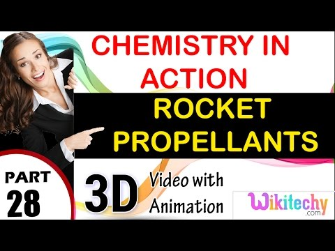 rocket propellants Chemistry in action class 12 chemistry subject notes lectures cbse iitjee neet
