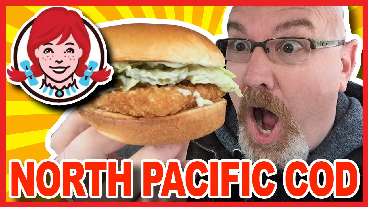Wendy 39 s north pacific cod sandwich review youtube for Wendy s fish sandwich