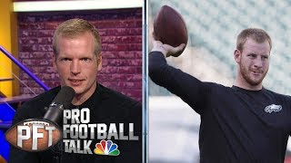 NFC Projected Wins: Vegas predicts Eagles to lead in wins I Pro Football Talk I NBC Sports