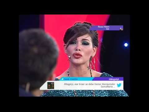 Magaly: Angie Jibaja muestra un mensaje agresivo de Romina Gachoy