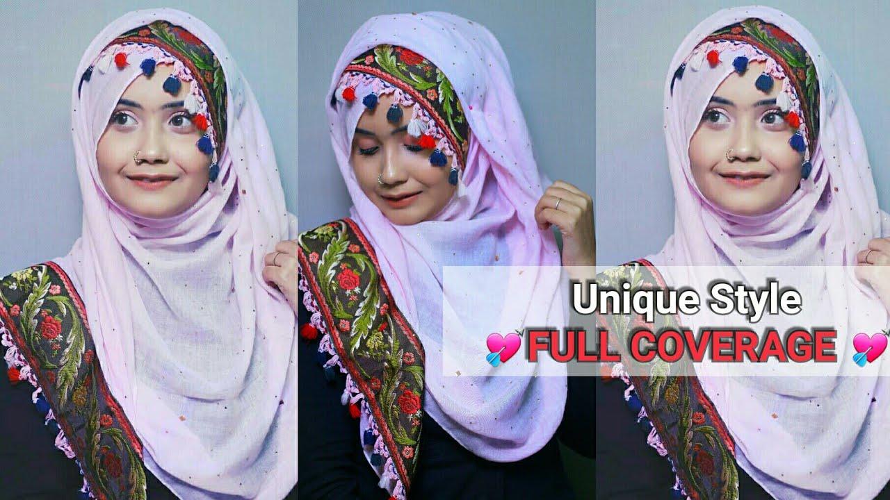 Unique Hijab Style