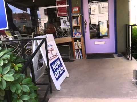 A cute little used bookstore in the town of Forest Grove , OR